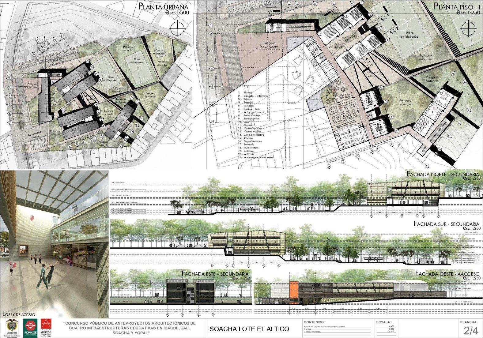 2 eductiv proyecta arquitectura On concursos de arquitectura