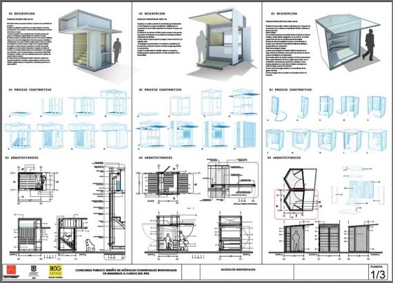 Modulos bogota proyecta arquitectura for Construccion de modulos comerciales